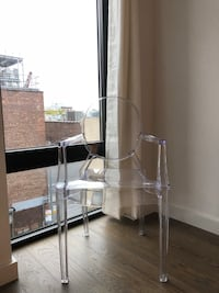 Clear Modern Acrylic Armchair New York, 11385