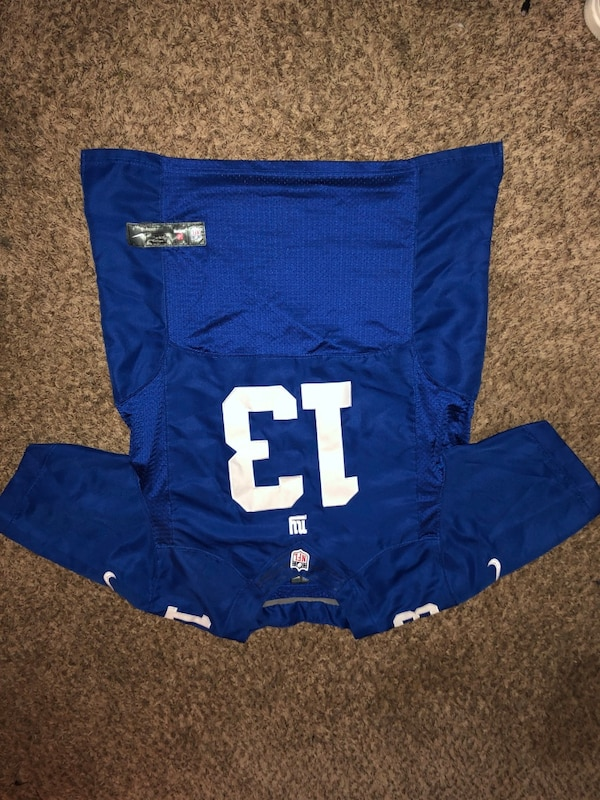 online store c58ad cb363 Used NFL NY Giants Odell Beckham Jr Jersey for sale in ...