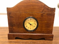 Gorgeous Mantle Clock W/ Trunk!