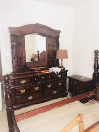 brown wooden dresser with mirror Houston, 77060