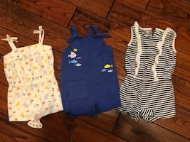 18M Rompers - 3 outfits