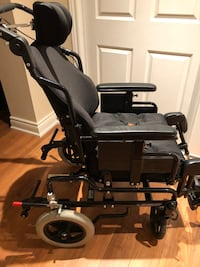 Custom built adult wheelchair. Chair is in like brand new condition. Toronto, M1R 1X6