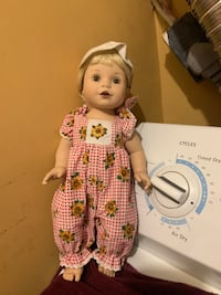 """Baby so beautiful 14"""" vintage doll"""