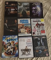 ASSORTED DVD's $1.00 EACH. AVP SOLD
