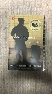 Redeployment book by Phil Klay