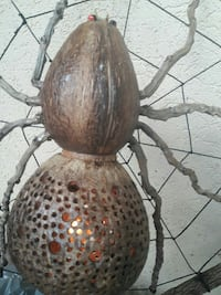 wooden Spider  lamp Palm Harbor, 34684