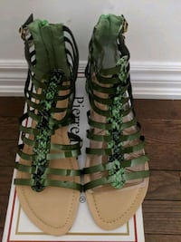 New!! Gladiator Sandals - Size 10 Brampton, L6P