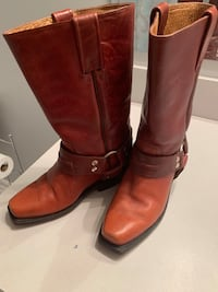 Rudel Rogers leather harness boots. Size 4.5 Yorktown, 23693