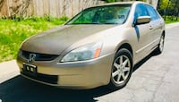 2003 Gold and Leather Seats Honda Accord Bethesda, 20814