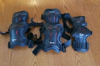Wrist, Knee and Elbow guards. Vancouver, V6Z 1Z7