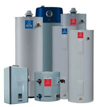 white and blue water heater Hesperia, 92345