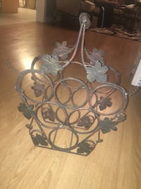 black metal wine bottle rack Brampton, L6P 2G6