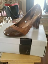 Three tone brown heels Capitol Heights, 20743