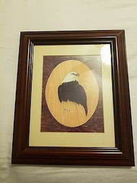 Bob Goldman's picture and a wooden frame Essex, 21221