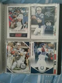 four Football iconic players trading cards Beaver Dam, 53916