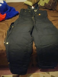 Carhartt Arctic Quilted winter overalls Gary