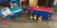 Paw patrol toy vehicle set Surrey, V3X 0B7