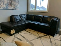 Leather Sectional Couch Waterloo, N2V 0C3