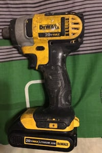 impact driver with one battery Surrey, V3T 3Z9