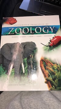 Integrated Principles of Zoology book