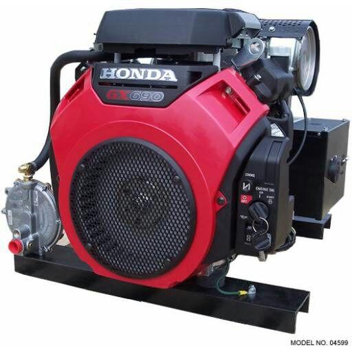 Wonderful CMG Generator 15,000W Propane Natural Gas Honda GX