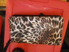 leopard wallet and phone case