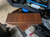 Wooden center console box Mercedes Oakton