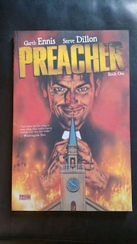 Preacher Book 1 Graphic Novel Oakville, L6H 2P3