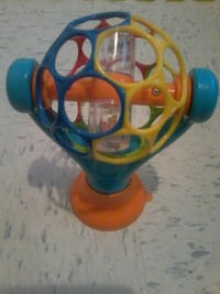 toddler's round yellow and blue toy North Bay, P1A