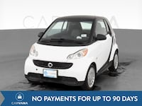 2014 smart fortwo coupe Pure Hatchback Coupe 2D White