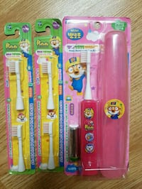 Pororo battery powered toothbrushes