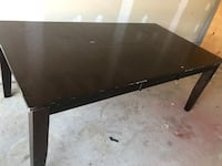 Large solid wood dining room table  Ancaster, L9G 3M8