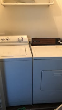 I have a washer and dryer both work in excellent condition moving can't take with me $200 O.B.O Pick up Only Indianapolis, 46254
