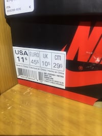 pair of red Nike basketball shoes Canutillo, 79835