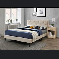 Liquidation:::::Upholstered Bed Only $149 New York, 11423