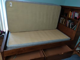 Southport Twin Storage Bed - Pine