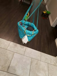 baby's blue and white hanging jumperoo Hamilton, L8H 5N4