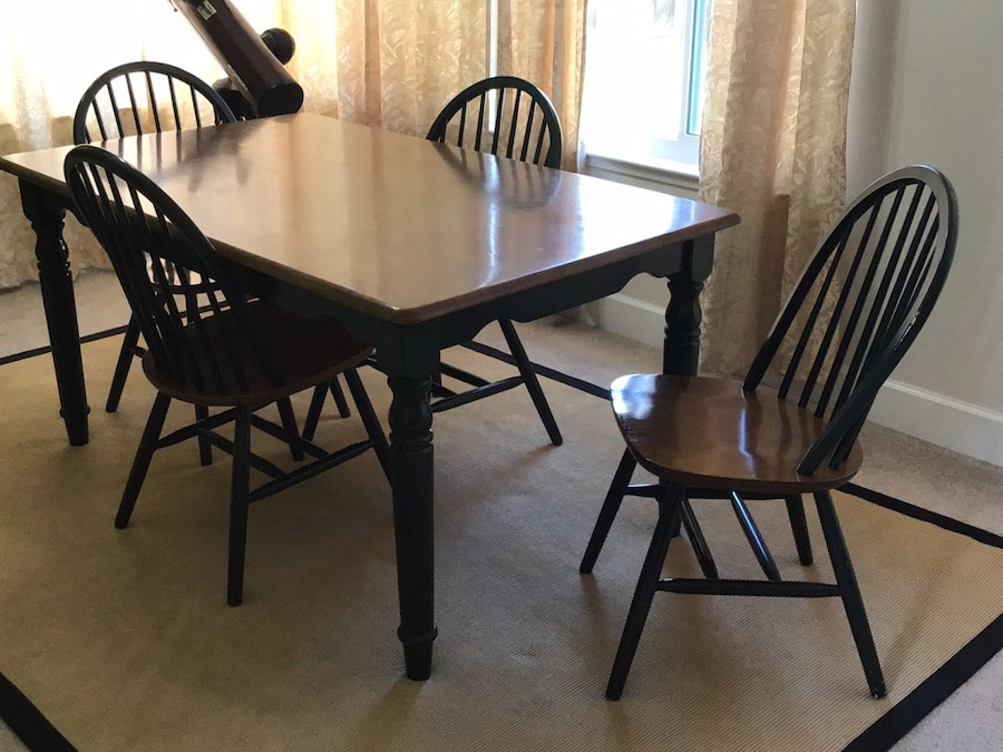 used dining table with four chairs for sale in union city letgo rh tr letgo com