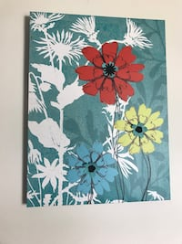red, blue, and yellow flowers painting Blanchester, 45107