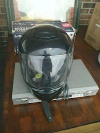 black and gray full-face helmet Indianapolis, 46224