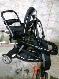 baby's Double black and gray stroller The Bronx, 10474