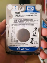 Wd 500gb note book harddisk