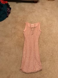 Pink with gold threading dress McDonough, 30253