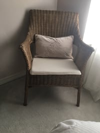 Wicker chair with cushion Mobile, 36695