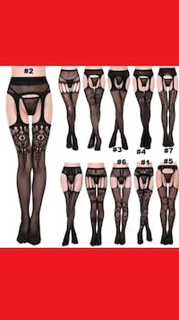 1pk New Nylons Floral Lace or Fishnet women Manchester, 03103
