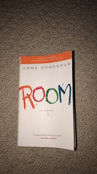 Room by Emma Donoghue book Saskatoon, S7H 0L7