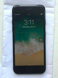 iPhone 7 jet black (128)gb unlocked  Toronto, M4H