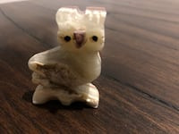 Owl - stone carved  Gaithersburg, 20878
