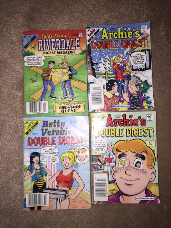 Old Archie comics