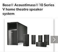 Bose Speakers New Mississauga, L5R 3E5